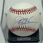 Autographed Deion Sanders Baseball