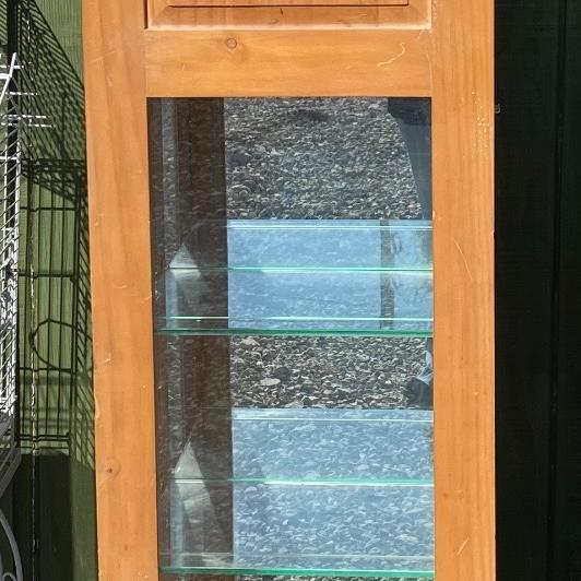 Photo of Grandfather Clock w/ Display Case