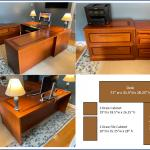 Jesper home office desk (Solid wood)