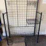 Lot #68 -- Carport/Mudroom metal storage rack