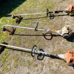 Lot of 3 Stihl Weed-Trimmers