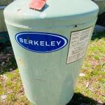 Berkeley Controlled Air Pressure Tank for Cold Water System Model No. S38461