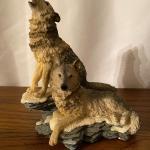 Wolf pr Figurine