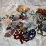 Quality beads! Strands, loose, Lapis, Malichite, Agate, Sterling, Carnelian, Art