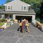 Neighborhood Yard sales Memorial Weekend Red Lion Rd. Henrietta NY