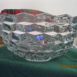 LARGE FOSTORIA AMERICAN PUNCH BOWL