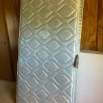 New with tags twin mattress, used box springs included