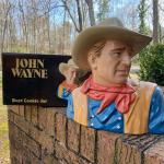 Large John Wayne Collector's Edition Cookie Jar