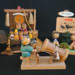 Lot 158:  Vintage Miniature Kokeshi Sets