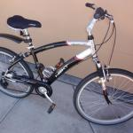Male and Female bicycles 26 inch seven speeds. Front and rear wheel hand brakes.
