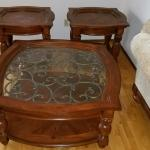 3 pc end table set