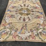 Large Victorian Dressed Monkey Tapestry Wall Hanging