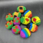 Colorful Hacky Kick Sack Lot