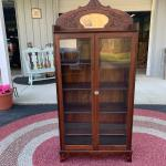 """Antique 1880""""s Victorian cabinet     66""""  H x30"""" L x12"""" D !973-600-3177"""