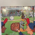 Lot 92 - (2) Young collectors edition series 2 US Olympic coins of the Atlanta C