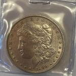 Lot 96 - 1890-O Morgan silver dollar
