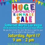 ⭐Community Rummage Sale!⭐