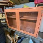 Metal shop cabinets