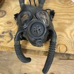 Vintage US Navy fighter pilot mask
