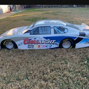 "Photo of NASCAR Dodge Coors Light Plastic Car"""