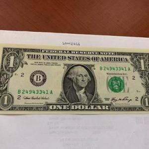 Photo of United States Washington $1.00 uncirc. banknote 2006 #1