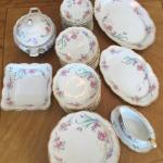 Beautiful Edelstein Maria Teresa Bavarian China ~ 86 pieces ~ Belmont Edition