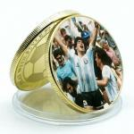United States Maradona uncirc. golden coin