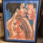 ART 49 Pastel Drawing by Sid Hoskins Long Beach Artist Friends