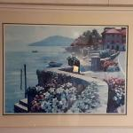 Coastal Water Scene Framed Artwork