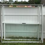 2 Patio Aluminum Frames with Sliding Doors/Windows $450/each