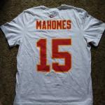 Mahomes 15 Nike Tshirts