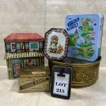 -215- Five Tins | German | Fruit Cake | Cigars