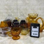 -223- LARGE LOT Amber Glass | Century of Progress Bottles