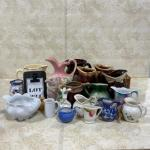 -224- LARGE LOT Small Pitchers | Hull Dripware