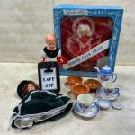 -217- VINTAGE | 1950s Dolls | German | French | Lady Alice | Tea Set Pieces