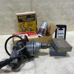 -230- VINTAGE | Power Tool Lot | Milwaukee Angle Drive | Electr-O-Drill