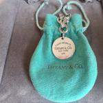 Tiffany & Co. Round Tag Toggle Bracelet