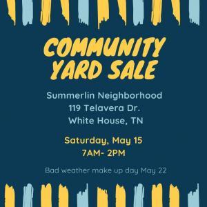 Photo of Summerlin's Annual Neighborhood Garage Sale
