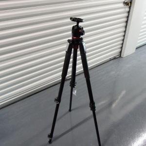 Photo of Tall Manfroto Camera Tripod - Professional Photography - 5' Feet