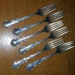 Victor Lorch Sterling Silver Dessert Forks