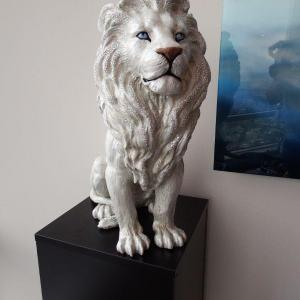 Photo of Jay Strongwater - Collectible Figurine - 2' Lion - Elegant Crystal Art