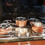 Fancy Cuisinart Copper Hammered Cook Wear Set- Barely Used- 8 Piece Set