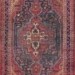 "Persian hamedan Authentic Traditonal Vintage Rug 7'8""x4'6"" Retail $3630"