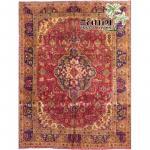 "Tabriz Wool Persian Rug Size 9'5""x6'5"" Retail $14820"