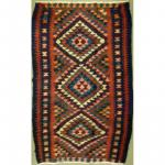 "Authentic Persian Vintage Kilims Natural Wool kilim 11'4""x4'3"" Retail $3733"