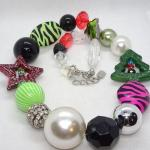 Fun Chunky Christmas Necklace