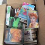 Collection of Miscellaneous Books and DVDs- Please See All Pictures