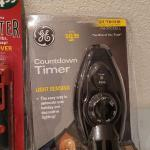 Lot 341: Assorted NEW Utility Tools (Switch Cord, Light Tester, Countdown Timer)