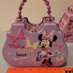 Lot 334: (3) New Metal Lunchbox Activity Purse