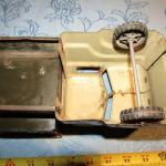 LOT 306  VINTAGE MILITARY TOY TRUCK